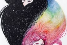 LGBTQ+/Rainbows