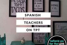 Spanish Teachers on TpT / Spanish Teaching | Spanish Resources | Find some of the best resources and blog posts for teaching Spanish from some of the best sellers on Teachers Pay Teachers! https://www.pinterest.com/senoralauralee/spanish-teachers-on-tpt/