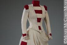 Dresses 1880's