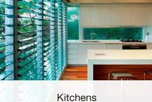 Kitchens / Blow those cooking smells right out of your kitchen with Altair Louvre Windows by Breezway.