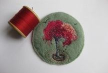 Felted picture - huopataulut