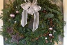 Wreath/natural decoration