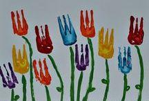 Thema: Lente & boerderij / Les ideeën rondom het thema lente