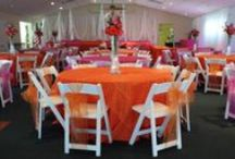 Where's Da Party Linens and Table Setups / View our selection of Linens, Table Setups for Weddings and other events