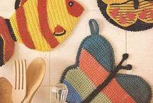 Cogedores a Crochet