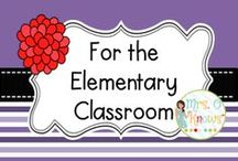 """For the Elementary Classroom / Resources and Ideas for the Elementary Classroom / by Mrs. O """"Knows"""""""