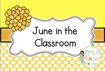 June in the Classroom