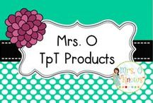 Mrs. O TpT Products / Teachers Pay Teachers Products from Mrs. O http://www.teacherspayteachers.com/Store/Mrs-O-9150