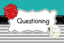 Questioning / Resources and ideas for teaching questioning in the classroom.