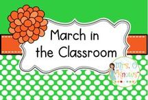 March in the Classroom / March Resources and Ideas for the Classroom
