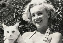 Marilyn with animals