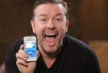 Ricky Gervais, his friends and his shows/movies