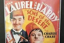 Laurel and Hardy movie posters