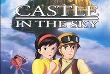 Ghibli movie posters