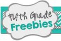 Fifth Grade Freebies / Fifth Grade Freebies is a collaborative blog dedicated to providing high quality *free* resources for upper elementary students! Please feel free to pin any freebies that are appropriate for fabulous fifth graders!