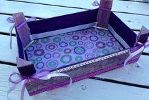 Cajas de fresas decoradas / Decorar cajas