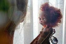 athina handmade dolls /  ooak art dolls..