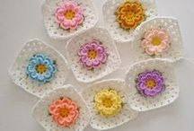 -::- Crochet granny squares -::- / by Anabelia Craft Design