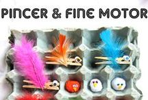Fine Motor Activities/Preschool