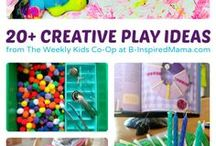 Link-up Features/Kids Activities / Great bloggers doing great things! Linky parties are a place for bloggers, homeschoolers, and teachers to share their educational and creative ideas!