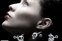 Helix Upper Ear Piercing / Helix and upper ear piercing