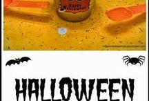 Halloween / Easy kids Halloween crafts and activities.