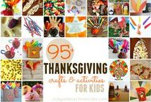 Thanksgiving / Thanksgiving kids crafts and activities.