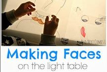 Light Table Activities for Kids