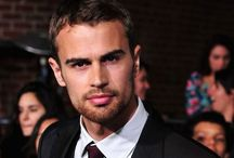 Theo James. / A whole lot of sexy.