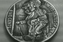 Переделать монету-Remake coin /  Как из старых серебряных монет сделать медаль,или что то похожее-As from old silver coins to do medal,or that that similar .