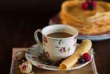 Café ou Chá? Quero os dois!!!!! / Não fico sem um bom café e nas noites frias um chá por favor!!