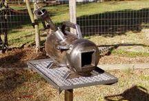 Газовый горн - Gas bugle / О печи где можно расплавить металл -   About stove where possible melt metal
