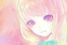 Anime and Manga art