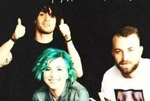 "Paramore / ""You built up a world of magic because your real life is tragic."" -Paramore, Brick By Boring Brick"