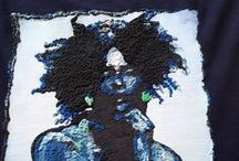 QUOR E' Wearable Art / Painted 3d customizable tshirts, Made  To Order