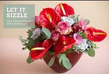 ♥ inspiration corner / To inspire you with Anthurium bouquets for long lasting pleasure of flowers