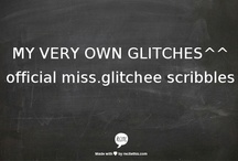 my very own GLITCHES™ / my thoughts, my heart, my ideals-- inked.^^  visit my site for more http://quotememore.blogspot.com