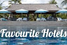 Our Favorite Hotels / Hotels hotels and more hotels! Luxury hotels, affordable hotels, cheap hotels, original hotels, kitsch hotels and more!