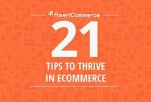 21 Tips to Thrive in eCommerce / 21 Tips to be a Successful eCommerce Store Owner