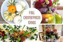 Fall Decor Ideas / Autumn and Fall Decor Ideas