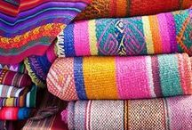 textiles + art = / fabrics from around the world / by Kerry Healey