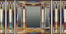 Thomas Meyers Mirrors / Handmade mosaic glass mirrors by Thomas Meyers