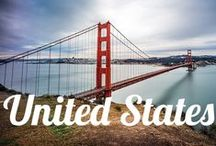USA Travel Dreams / The United States of America has everything you need when traveling - mountains, beaches, cities, waterfalls, canyons- you name it they have it!