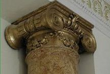 Columns Faux Finishes