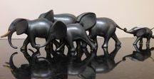 Loet Vanderveen / Bronze animal sculptures by famed artist, Loet Vanderveen.
