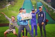 Skijumping /  skijumpers // some photos downloaded and posted from tumblr
