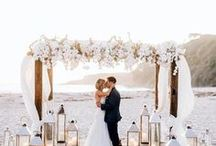 Beach Weddings / Sandy Toes & Salty Kisses