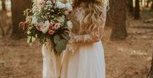 Bohemian Weddings / Lace, Flowers, Nature & Wood
