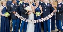 Military/Police Weddings / For The Women & Men who Serve & Protect Our Country, Towns & Cities