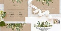 Invitations / Setting The Mood And Theme For Your Wedding Starts With The Invitations